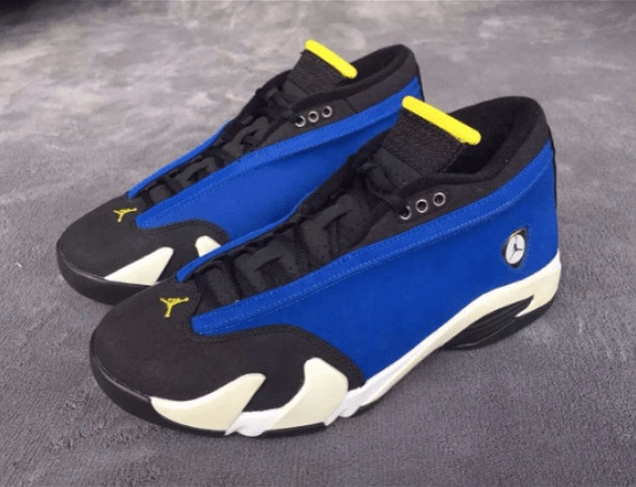 61db7f4494a4 Air Jordan 14 Retro Low  Laney  - Detailed Look - WearTesters