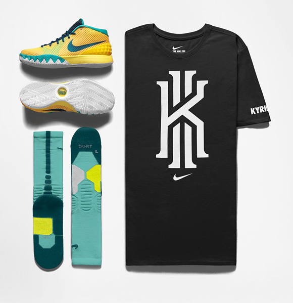 Nike Kyrie 1 'Letterman' - Official Look + Release Info 6