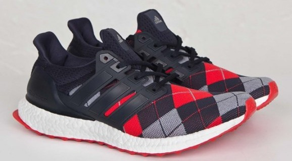 adidas Ultra Boost KVA red plaid
