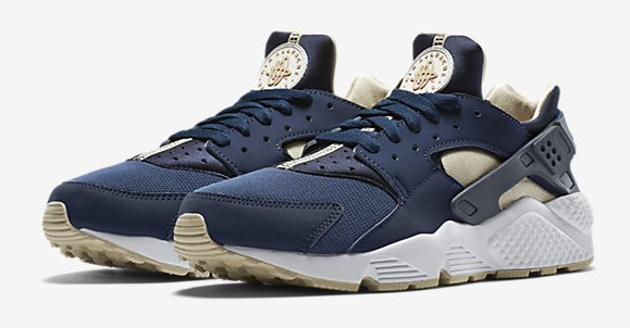 dc2c01724af Nike Air Huarache Gets Lifestyle Look With Midnight Navy  Rattan ...