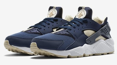c6bde9b6f2f7 Nike Air Huarache Gets Lifestyle Look With Midnight Navy  Rattan Colors