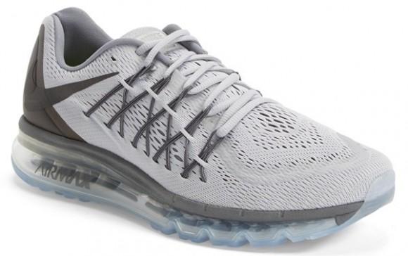 sports shoes 3bafc 9f986 Nike Air Max 2015 Black Nike Air Max 2015 Silver Grey ...
