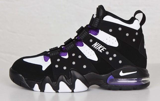 5959f3ce3316 ... australia nike air max2 cb 94 og black white pure purple lateral bb6cf  cabe5