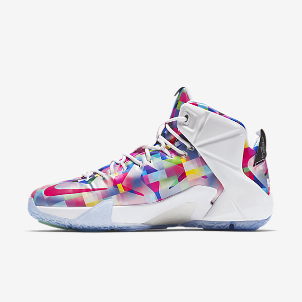 ... Nike LeBron 12 EXT Finish Your Breakfast Fruity Pebbles medial 3e2c3a9df9eb