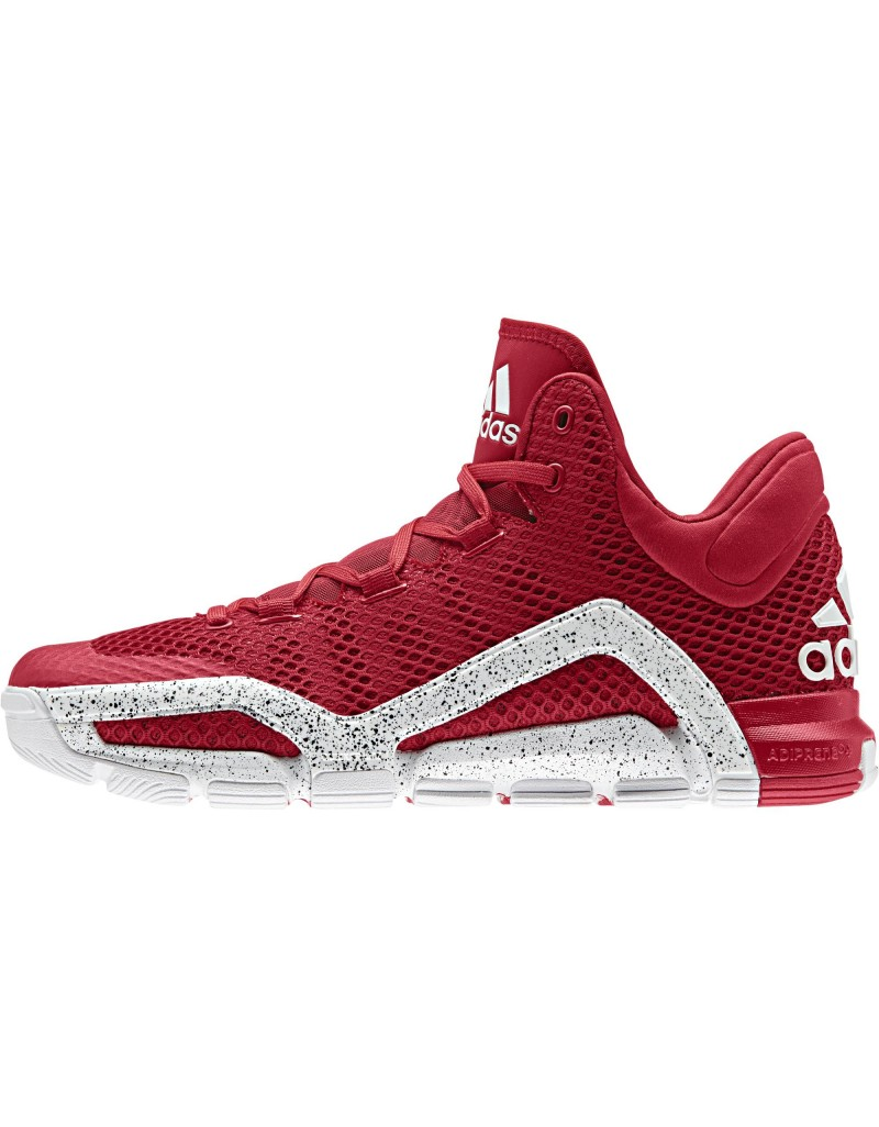 buy online 50b98 b4477 adidas CrazyQuick 3 in Red/ White - WearTesters