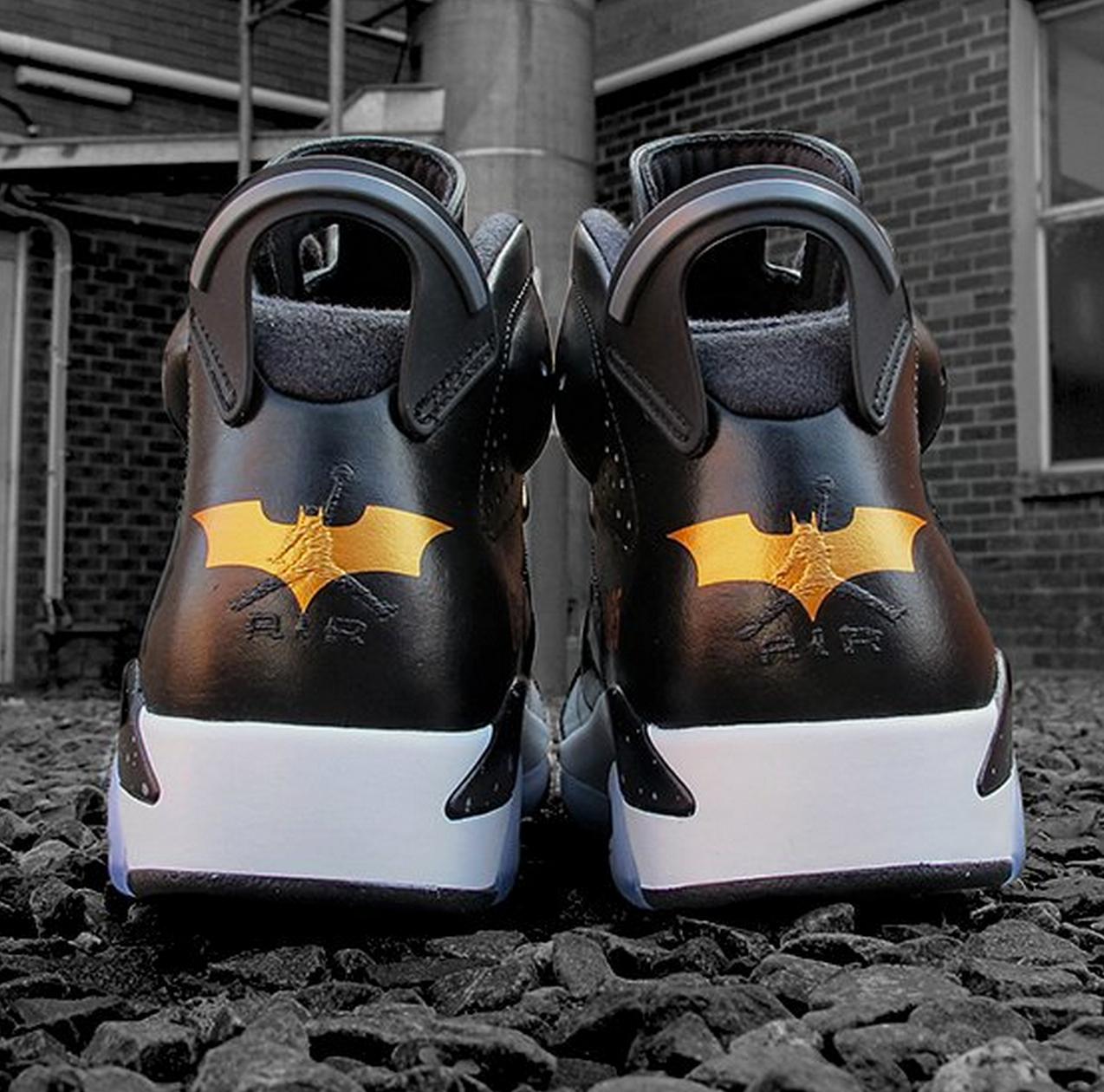 super popular 2301f ab397 batman jordan vi jordan vi shoes