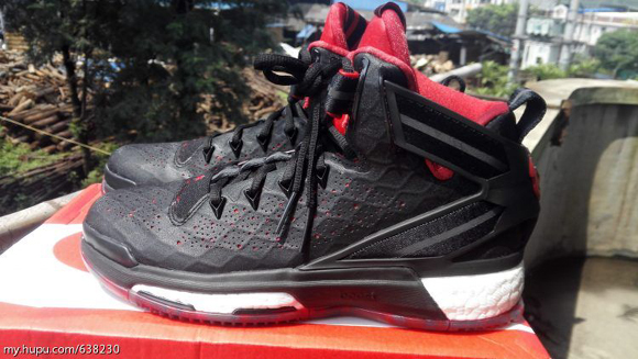 6cfcf283482bec A Detailed Look at The adidas D Rose 6 in Black  Red - WearTesters