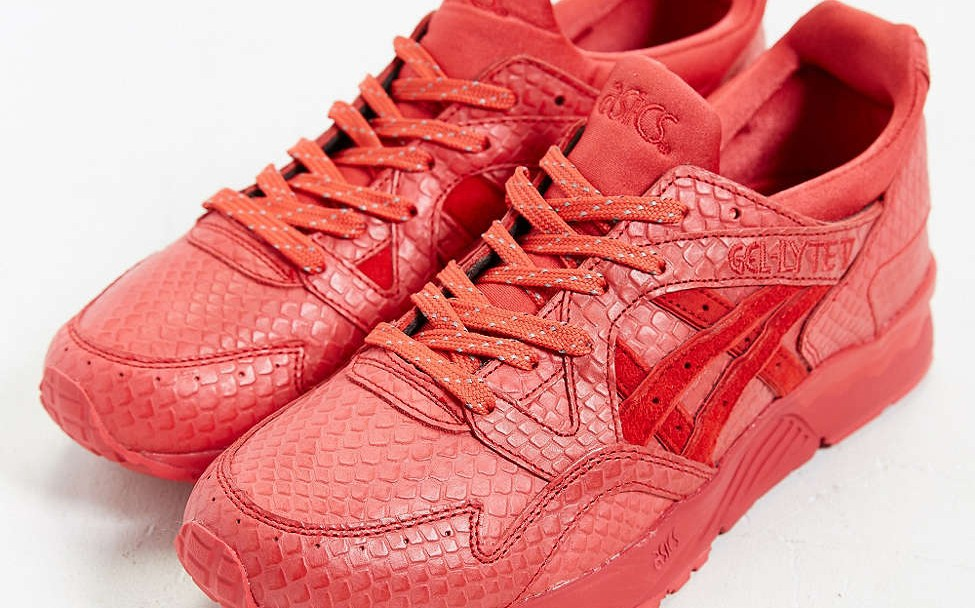 Asics Gel Lyte V  Red Mamba  - Available Now - WearTesters b1e1652d6
