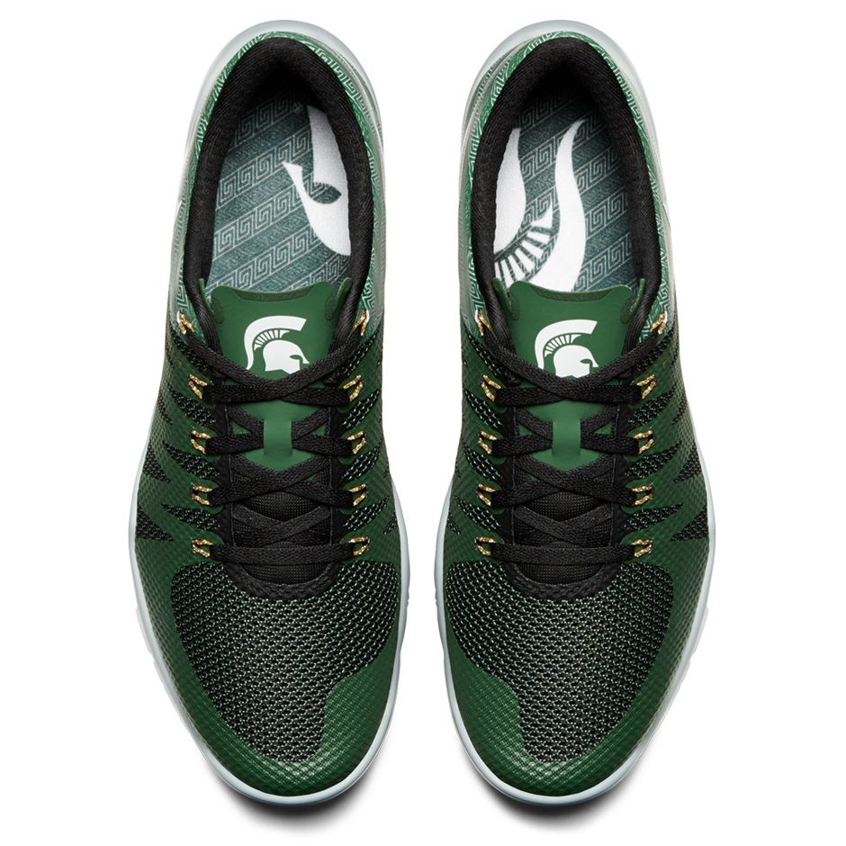 pretty nice 5d3e6 fe25d Nike Free Trainer 5.0 V6  Week Zero  Michigan State Spartans ...