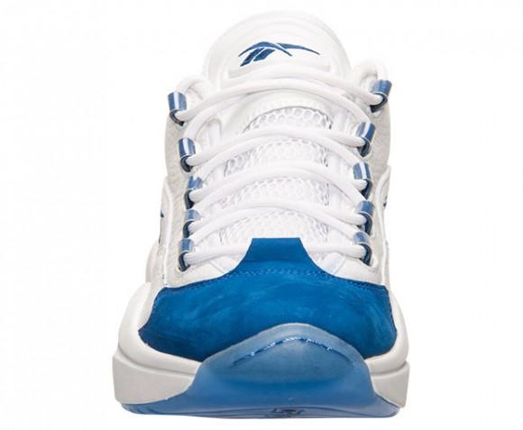 Reebok Question Low White Blue 3