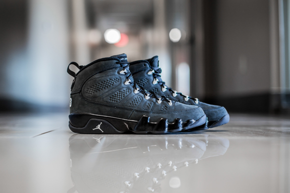 low priced 392d6 b414a ... top quality get up close and personal with the air jordan 9 retro  anthracite 1 7ca9f