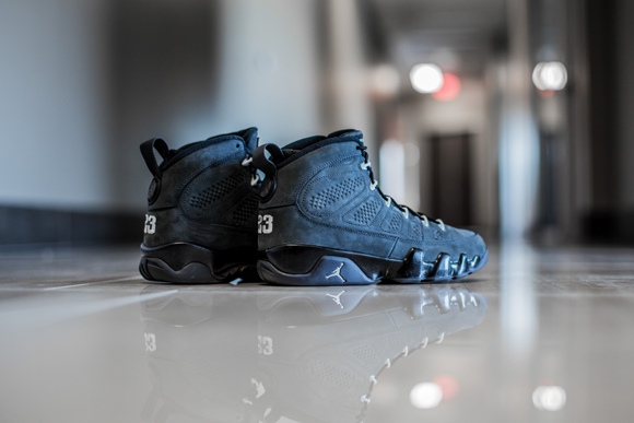 buy popular 0c3bc 6f85d ... Get up close and personal with the Air Jordan 9 Retro  Anthracite  2