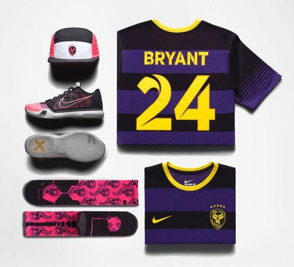 Nike Kobe X Elite 'Mambacurial' apparel