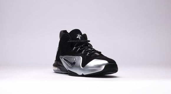new style f8330 e85e0 ... The Nike Zoom Penny VI (6) Now Comes in Black Metallic Silver 2 ...
