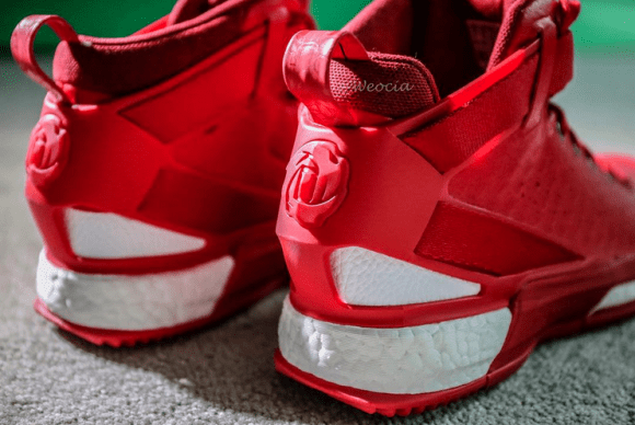 the latest 70729 d4687 ... uk the adidas d rose 6 looks amazing in red 4 b94e4 23922