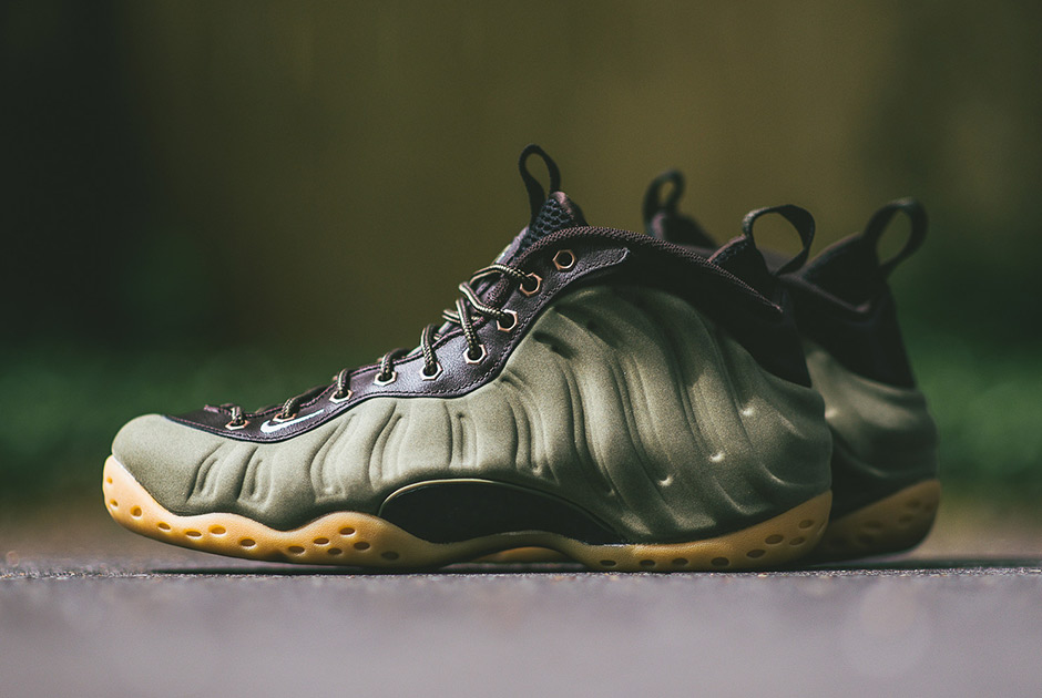 quite nice d021c 73cbd ... promo code for nike air foamposite one suede olive new release 51037  ebcc3