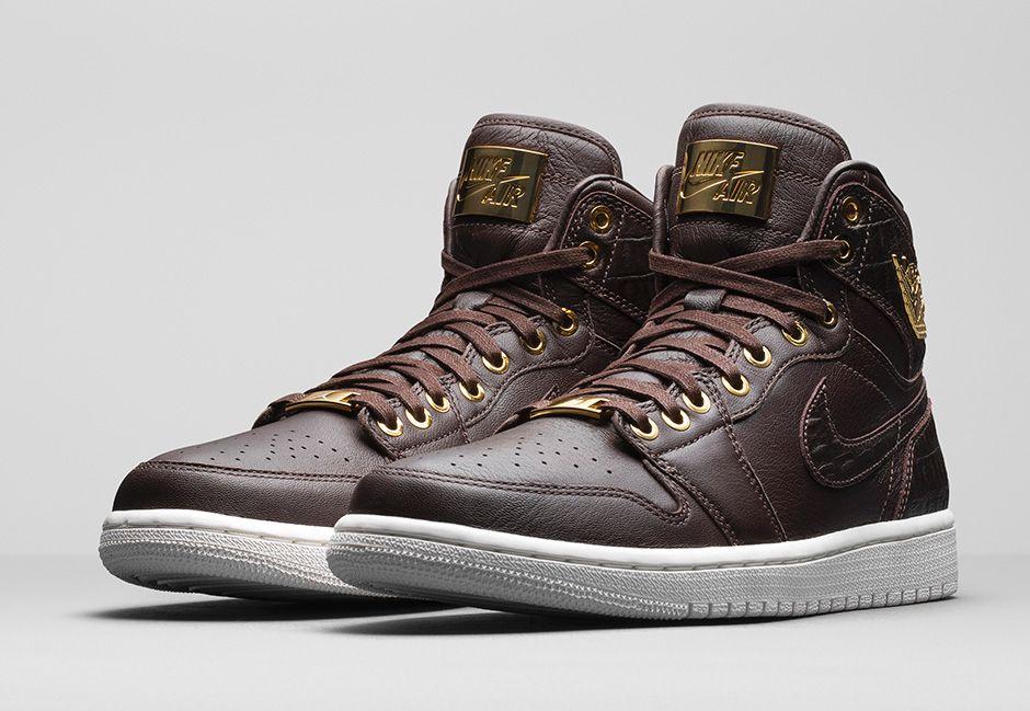 98399c0289b327 Official Look at the Croc Print Air Jordan 1 Pinnacle  Baroque Brown ...