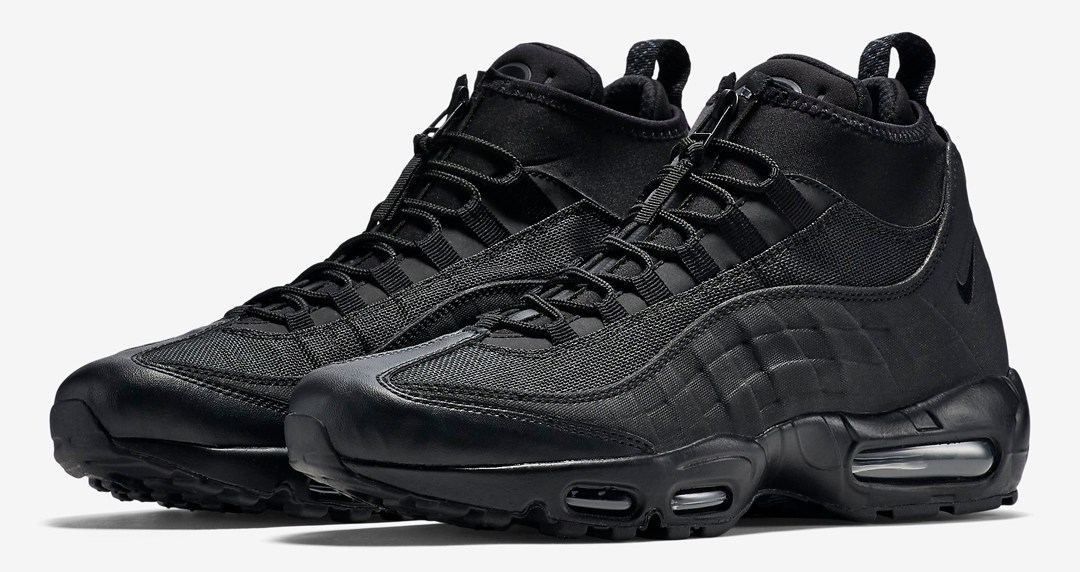 The Nike Air Max 95 Gets a Winterized Boot Makeover - WearTesters 28160d745a7