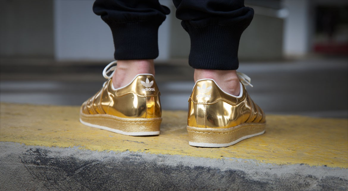 0c52a851b349 Shine On with the adidas Superstar 80s  Metallic Gold  - WearTesters