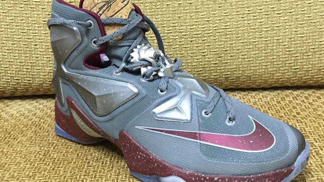 brand new d830e bc471 Drink Up the Nike LeBron 13  Cork   Wine  - WearTesters