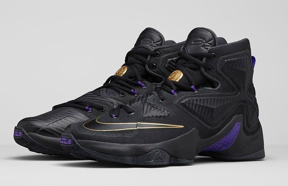 0a5e9f7e0f67 Be Money on Court with the Nike LeBron 13  Pot of Gold  - WearTesters