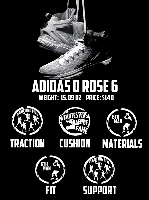 first rate 58eae 575c5 adidas D Rose 6 Performance Review 11