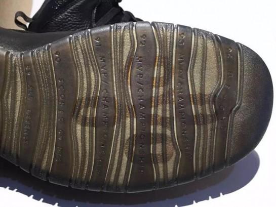 48985688cf26 Quick Look at the Jordan 10 Retro x OVO  Black  Colorway - WearTesters