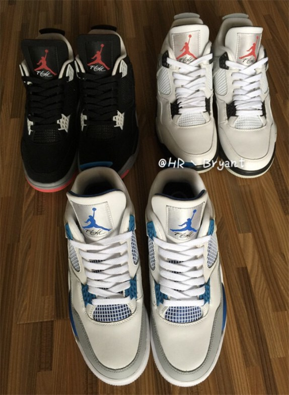 Air Jordan Retro 4  Military Blue  in the Mix - WearTesters cdec52dba