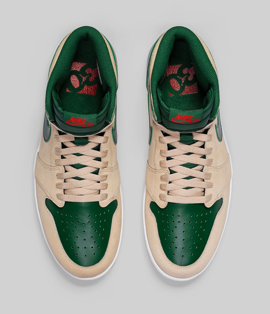 b006969956f2 Air Jordan 1 Retro High The Return  Gorge Green -` - WearTesters