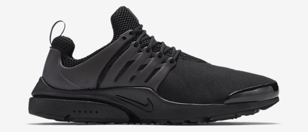new arrival ab81a 9a650 ... Nike Air Presto Blackout Triple Black lateral ...