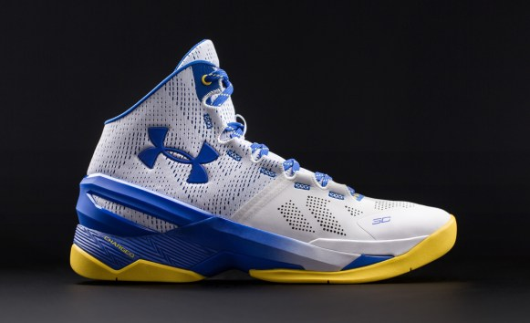 Under Armour Curry Two 'Dub Nation Home' lateral