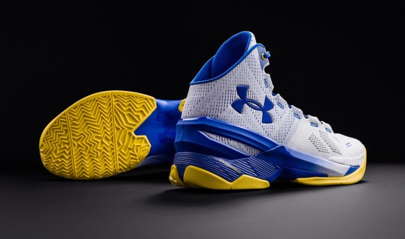 Under Armour Curry Two 'Dub Nation Home' traction
