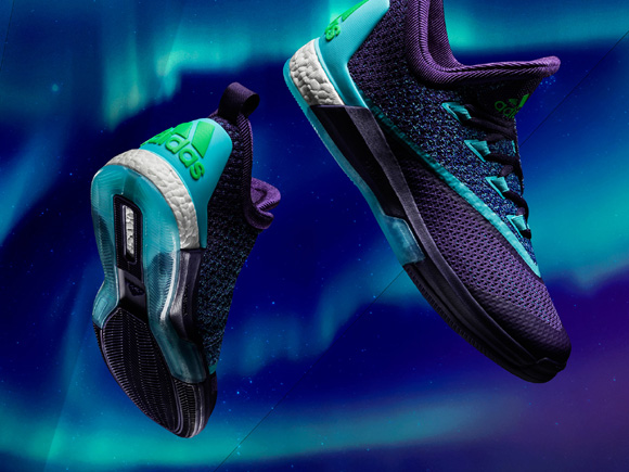 adidas Unveils the Crazy Light Boost 2.5 within the Aurora Borealis Basketball Collection 1