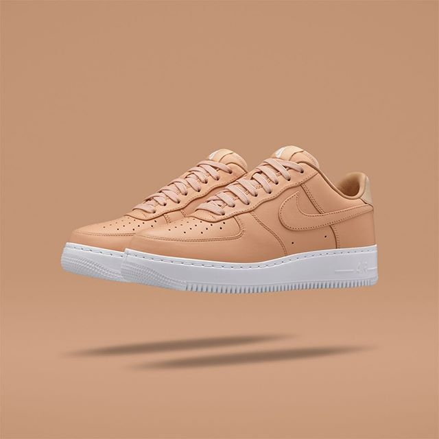 big sale 1c76a 435ac ... Nike Air Force 1 Vachetta Tan 2