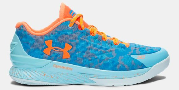Under Armour Curry One Low Electric Blue SC30 Select Camp 1