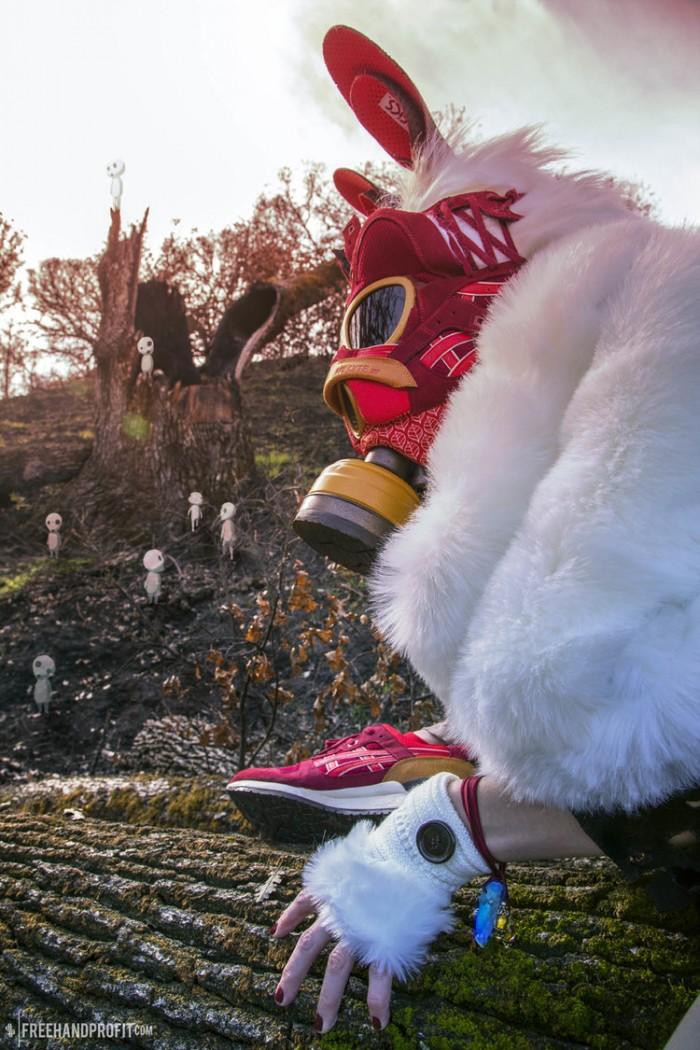 Princess Mononoke Asics Gel Lyte III 2