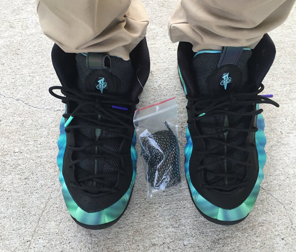 290cd3b7eca128 Get a Detailed Look at the Nike Air Foamposite One  Northern Lights ...