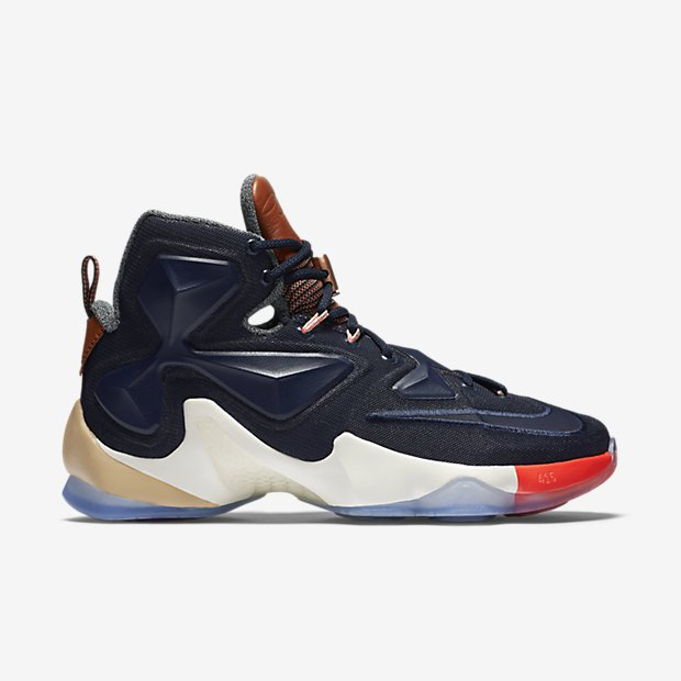 super popular ff20b d8c07 Nike LeBron 13 EXT 'LuxBron' medial - WearTesters