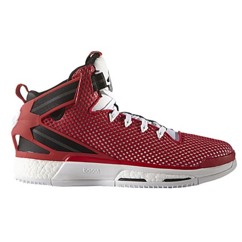 buy online 80199 9450d The adidas D Rose 6 is Now Available in Red Mesh - WearTeste