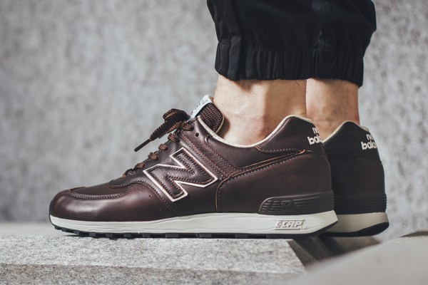 pretty nice c380d 712c8 best price new balance 576 brown leather a9e57 9642e