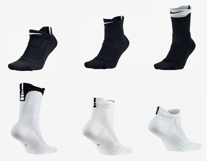 b35ca1bd6 2016 Nike Elite Versatility Socks - WearTesters