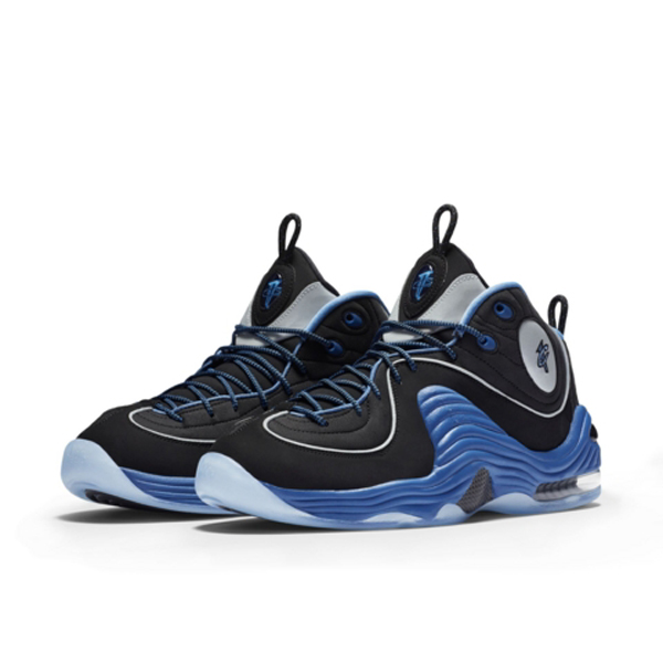 pretty nice 62e70 3d856 The Nike Air Penny 2 in Black  Varsity Royal is Available Now ...