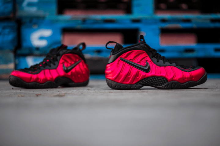Get Up Close and Personal with the Nike Air Foamposite Pro  University Red   2 3c77145667
