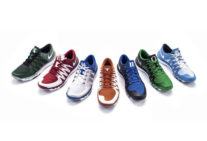 fbfa1b77cd7ba5 Rep Your School in any of these Nike Free Trainer 5.0 V6  March ...