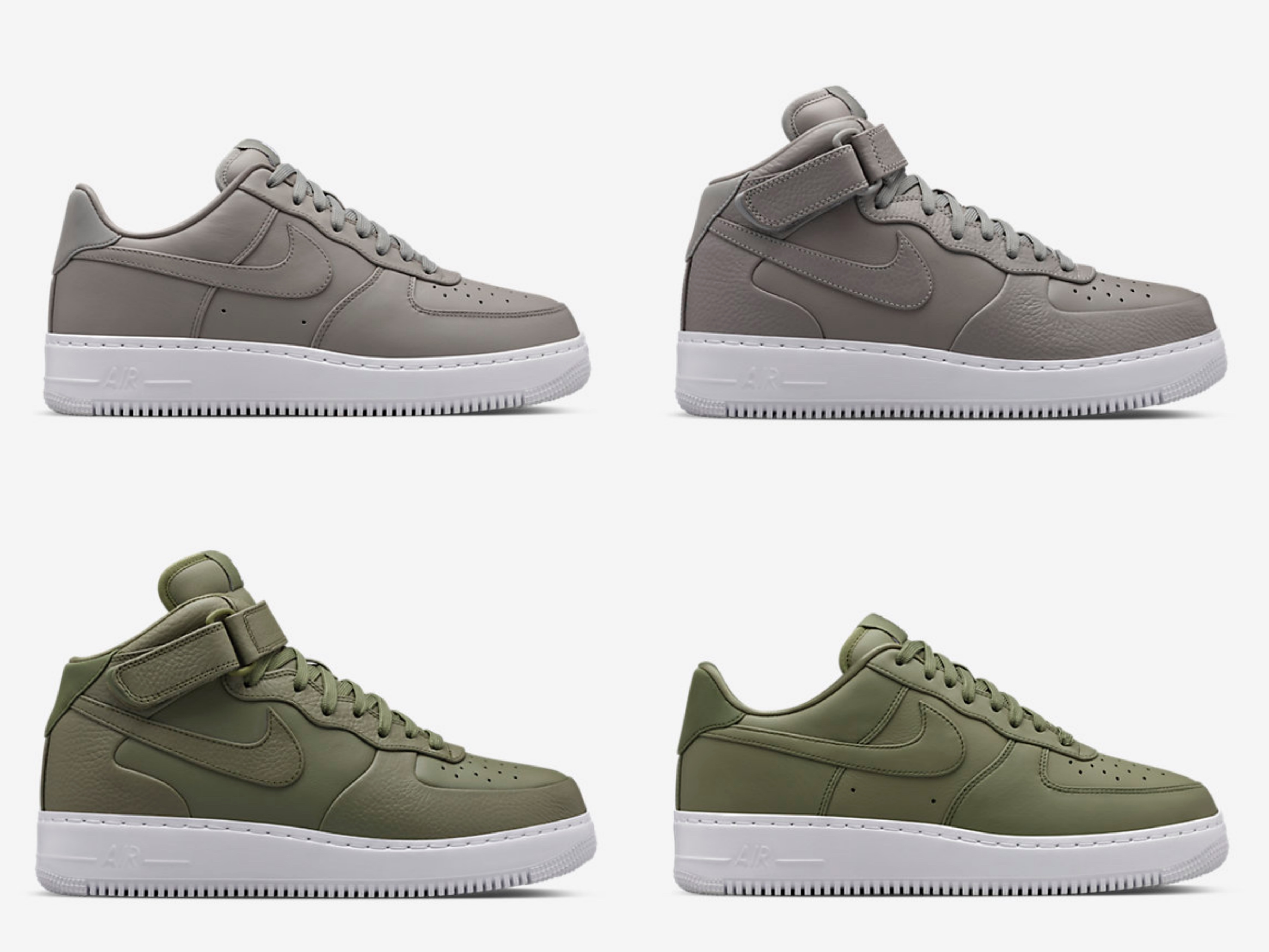 big sale dcfa8 fb9df Prepare to Stomp in These NikeLab Air Force 1s - WearTesters