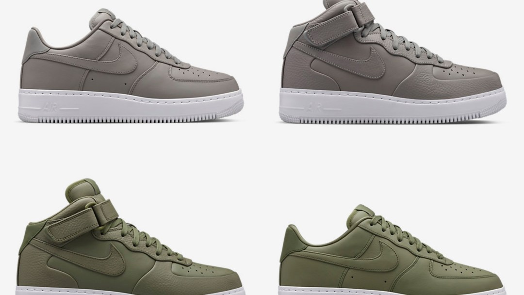big sale 61e8d 87038 Prepare to Stomp in These NikeLab Air Force 1s - WearTesters