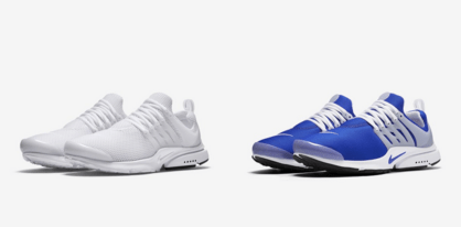 huge discount ac01a 86bba ... top quality the nike air presto now comes in all white royal blue  colorways 574ea ff8b4