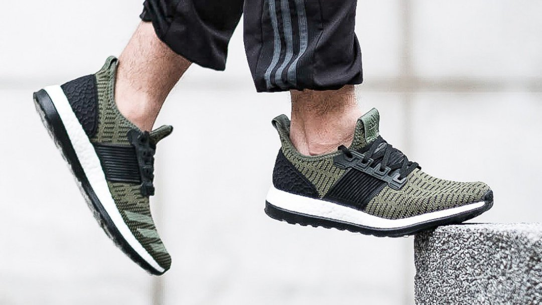 quality design 06779 64e77 The adidas PureBOOST ZG Prime Arrives in Olive - WearTesters