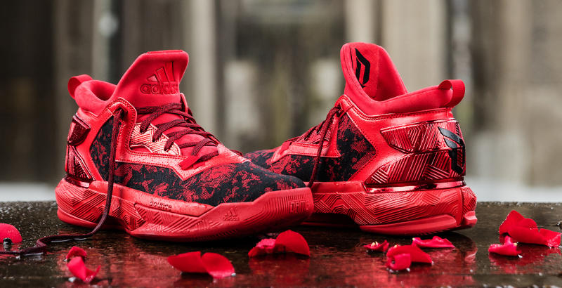 The Rose City Inspired adidas D Lillard 2  Florist City  is ... e0ed65f8f8