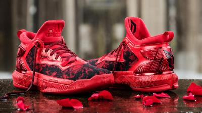 premium selection e37a6 b00ff The Rose City Inspired adidas D Lillard 2  Florist City  is Available Now